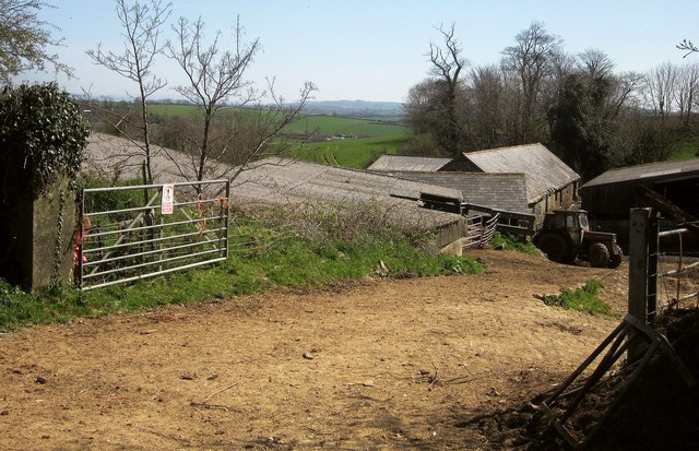 Farm buildings, Trecarrell