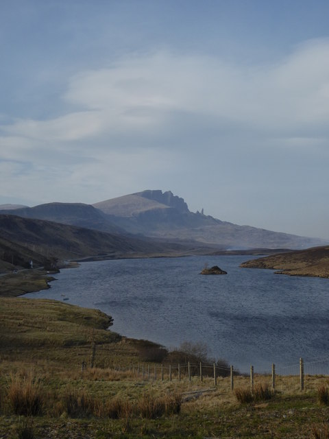 Loch Fada and the Storr