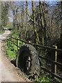 SX2978 : Tyres by the stream, Newtown by Derek Harper