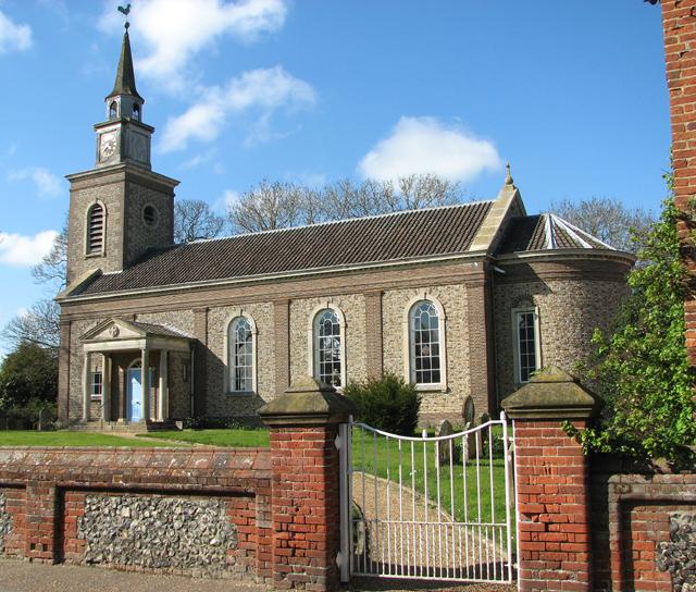 All Saints church in Bawdeswell