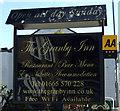 NU1301 : Sign for the Granby Inn, Longframlington by JThomas