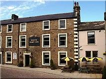 SD8789 : White Hart Inn Hawes by Steve Houldsworth