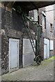 SJ9143 : Crane between Short Street and Chelson Street, Longton by Chris Allen