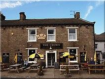 SD8789 : Crown Inn Hawes by Steve Houldsworth