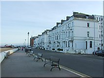 TR3752 : Prince of Wales Terrace, Deal by Chris Whippet