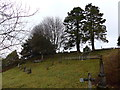 SD3598 : St Michael and All Angels, Hawkshead: churchyard (1) by Basher Eyre