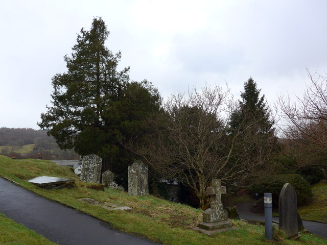 St Michael and All Angels, Hawkshead: churchyard (4)