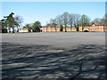 TF7833 : The old Parade Ground at RAF Bircham Newton by Evelyn Simak