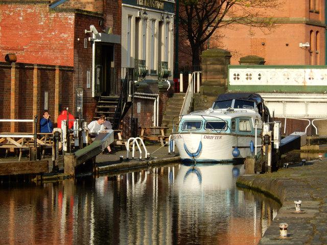 Castle Lock, Nottingham Canal