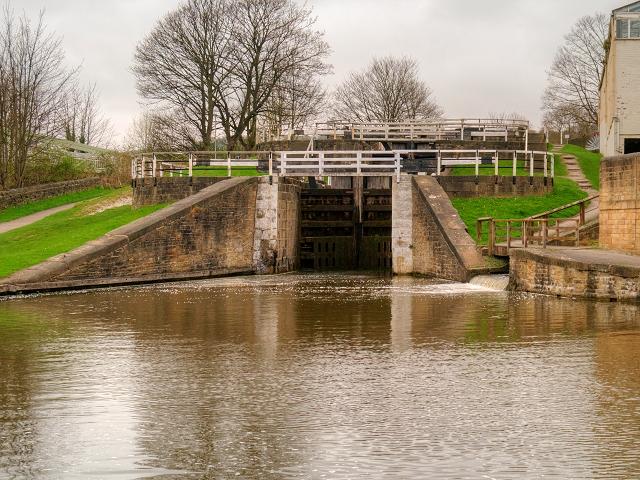 Bingley Three-Rise Locks