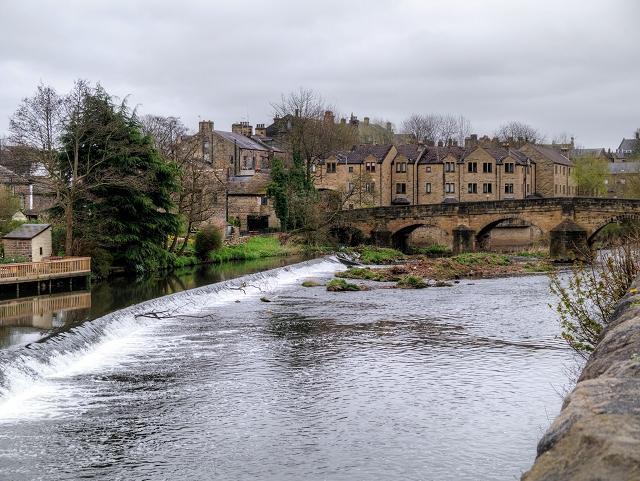 Bingley Weir and Ireland Bridge