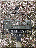 TM0259 : Onehouse Village Sign by Adrian Cable
