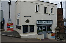 SW8132 : King's Pipe Pasties off Arwenack Street, Falmouth by Ian S