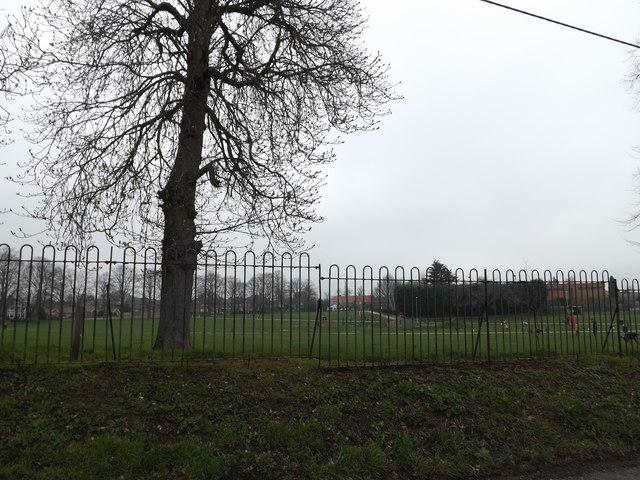 Recreation Ground off the B1115 Finborough Road