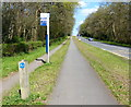 SP3074 : Bus stop along the A429 Kenilworth Road by Mat Fascione