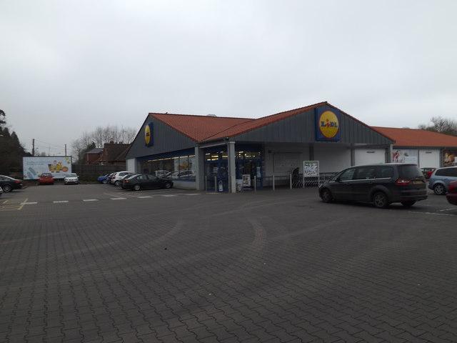 Lidl Supermarket, Stowmarket