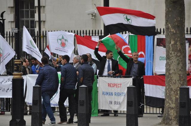 London : Westminster - Iran Protectors