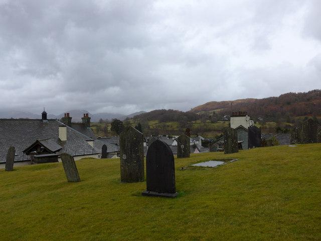 St Michael and All Angels, Hawkshead: churchyard (10)