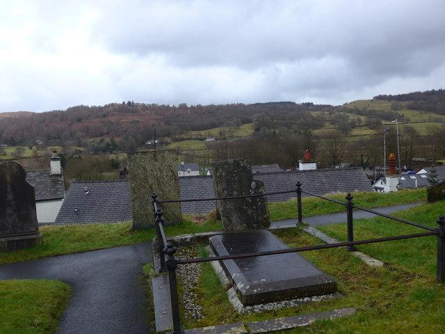 St Michael and All Angels, Hawkshead: churchyard (11)