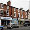 SP3165 : Blue Cross and Oxfam in Royal Leamington Spa by Jaggery