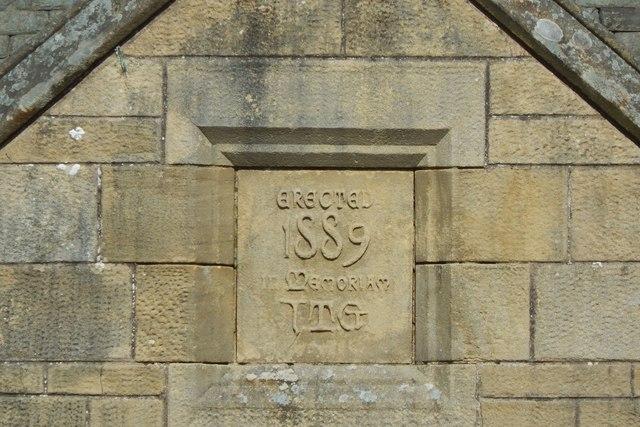 Geilston Halls: detail