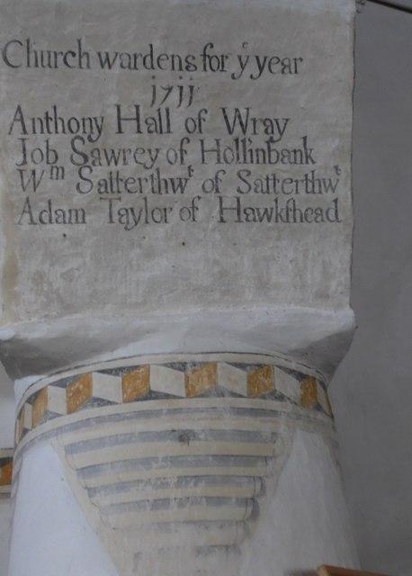 Inside St Michael and All Angels, Hawkshead (1)
