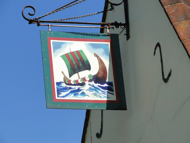 The sign of The Ship