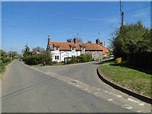 TM3656 : Cottages in Blaxhall by Adrian S Pye