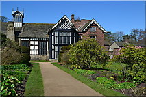 SD4615 : Rufford Old Hall from the garden by David Martin
