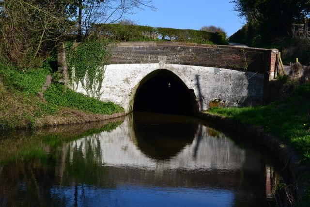 Western portal of Barnton Tunnel