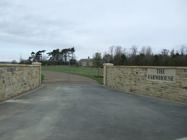 Gateway, The Farmhouse, Ulgham Park