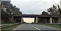 SJ6271 : Overbridge near Heyesmere by John Firth