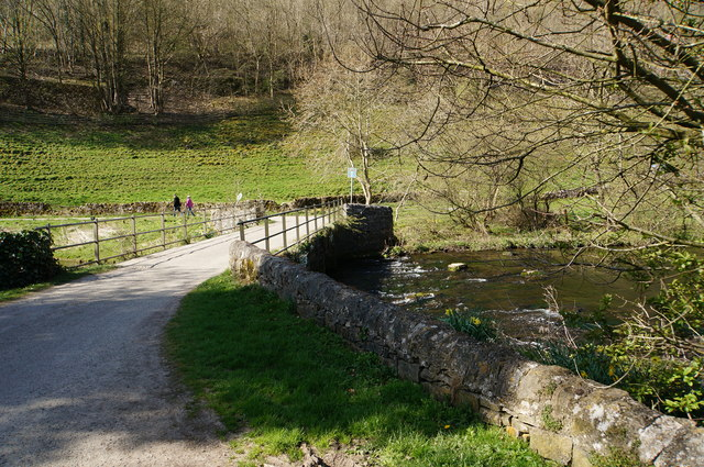 Bridge over the Wye at Upperdale