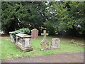 SO5770 : Tombstones at St James' Church, Greete by Eirian Evans