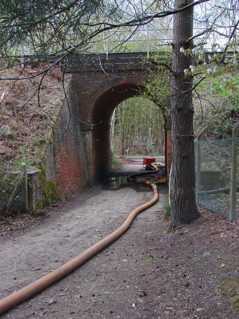 Railway bridge near Gapemouth