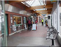 TQ0202 : Railway Station Concourse - Terminus Road by Betty Longbottom
