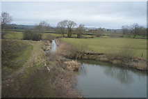 SO2199 : River Camlad by N Chadwick