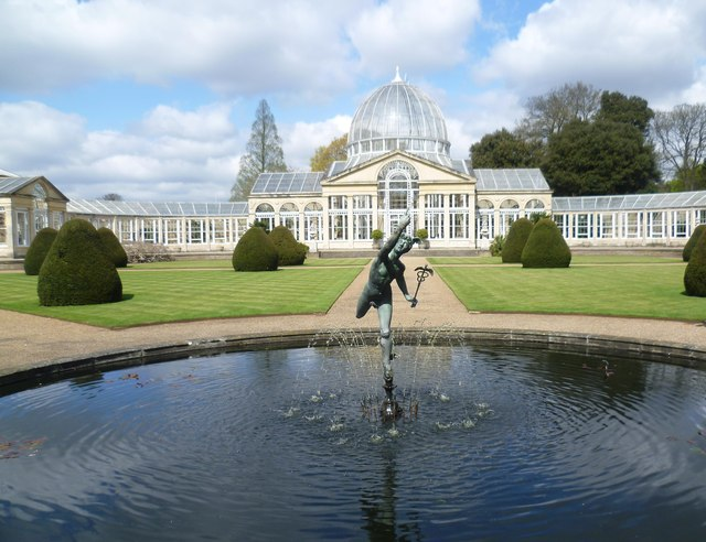 The Great Conservatory at Syon House
