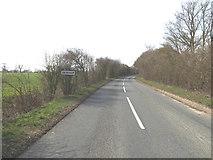 TM1972 : Entering Denham on the B1117 Denham Road by Adrian Cable