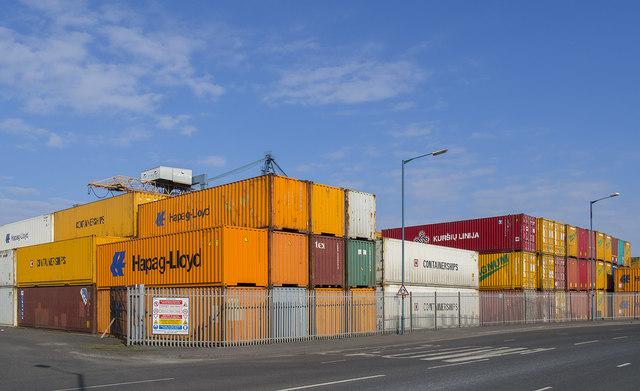 Shipping containers, Belfast
