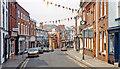 SO6554 : Bromyard, High Street 1992 by Ben Brooksbank