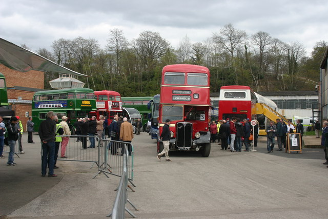 Open Day at London Bus Museum, Brooklands