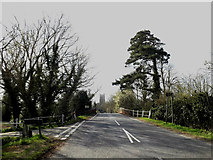 TM1573 : B1117 Hoxne Road, Eye by Adrian Cable