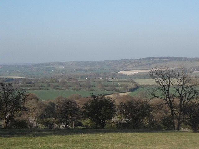 The Coombe from Beacon Road