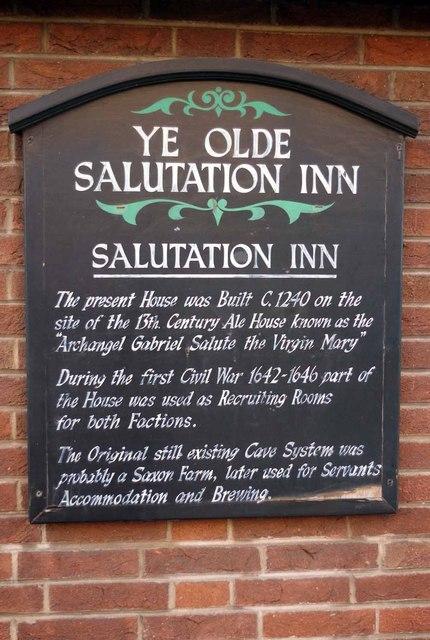 Salutation History by Glyn Baker