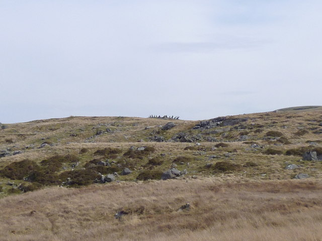 The Bryn Cader Faner stone circle
