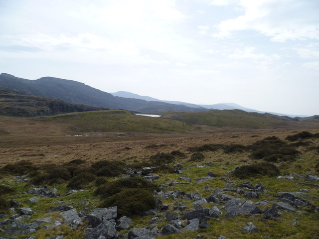 View on the Taith Ardudway Way