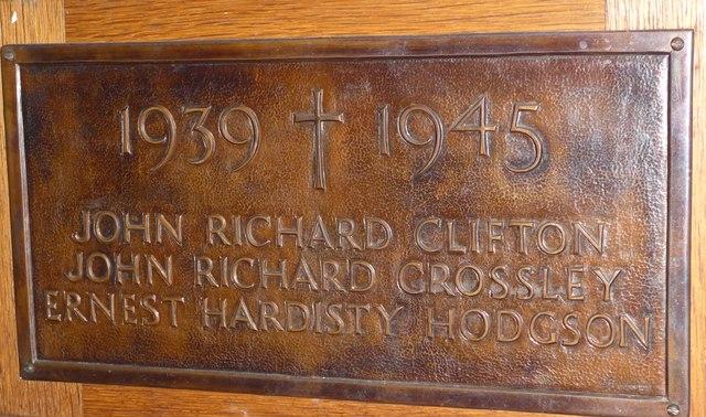 St Michael and All Angels, Hawkshead: memorial (iii)
