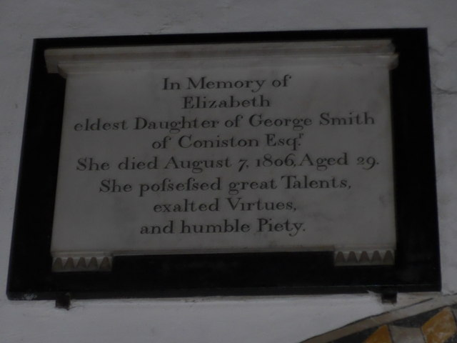 St Michael and All Angels, Hawkshead: memorial (xiii)