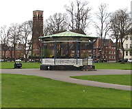 SP3165 : Pump Room Gardens bandstand, Royal Leamington Spa by Jaggery